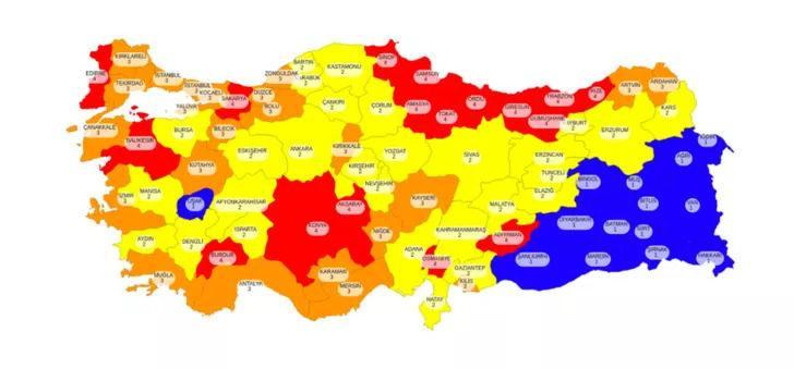 İstanbul, Ankara, İzmir hangi risk grubunda? Ankara, İzmir ve İstanbul risk haritası...