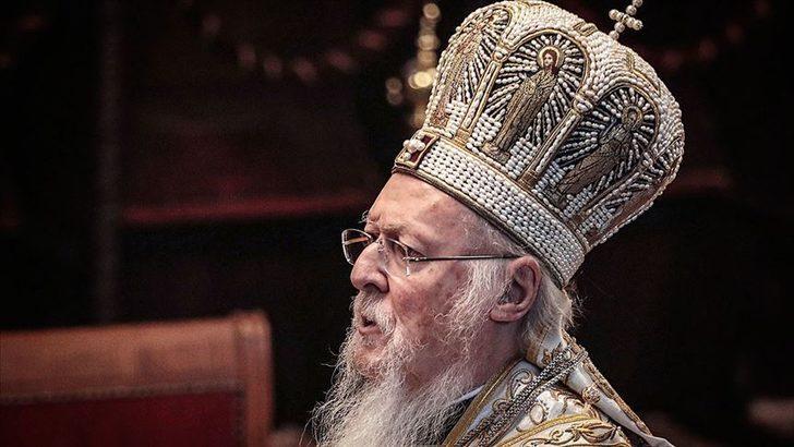 İletişim Başkanı Altun, I. Bartholomeos'un doğum gününü kultadı