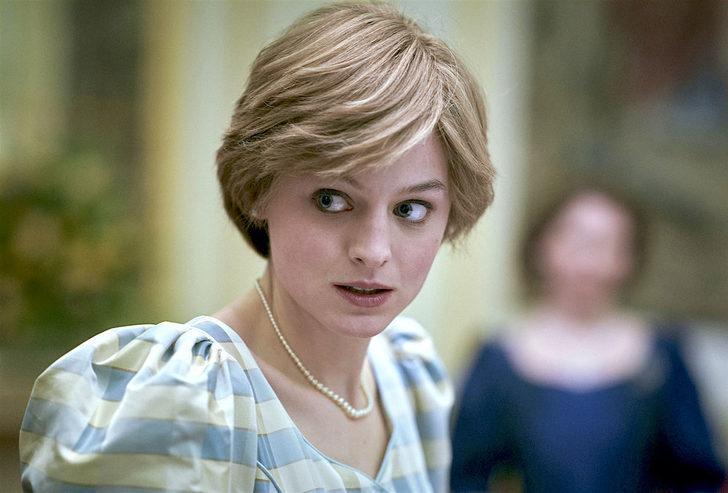 Emma Corrin Prenses Diana'ya teşekkür etti