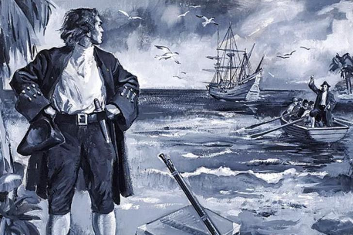 4 yıl ıssız adada tek başına yaşayan adam Alexander Selkirk'in hikayesi Robinson Crouse'a ilham oldu!