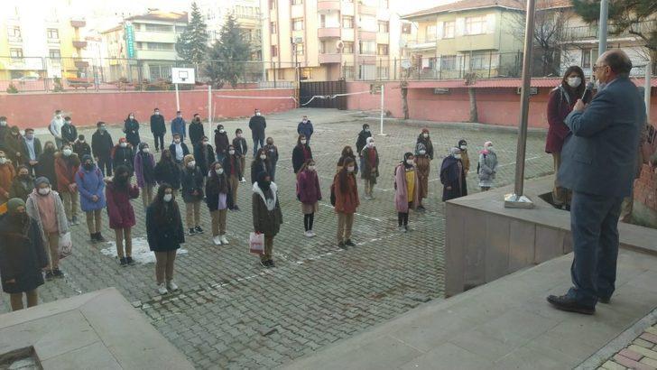 Çorum'daki okullarda yüz yüze eğitim sevinci