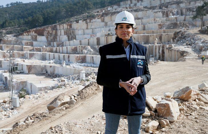 """""""Maden işi erkek işi"""" algısını yıkarak başına geçtiği şirkette 84 milyon lira ciro yaptı"""