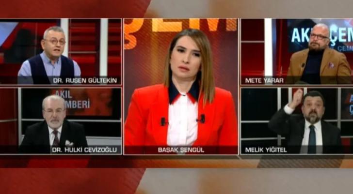 CNN Türk canlı yayınında büyük gerginlik! 'Haysiyet yoksunu'