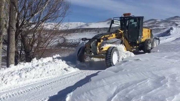 Iğdır'da kapanan köy yolları ulaşıma açıldı