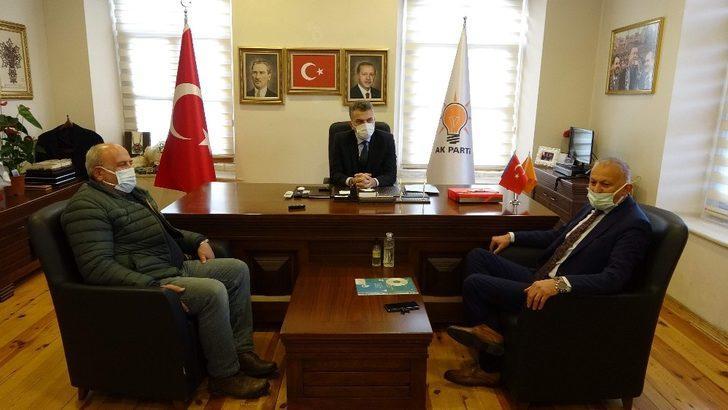 Sanayiciler AK Parti İl Başkanı Mumcu'ya projelerini anlattı