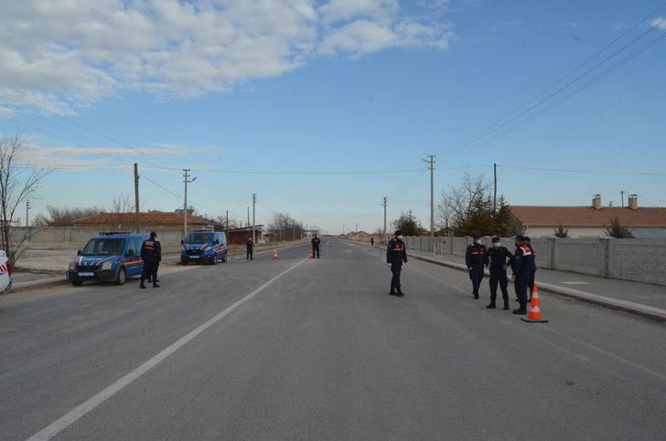 'Çok yüksek riskli' Aksaray'da bir belde karantinaya alındı