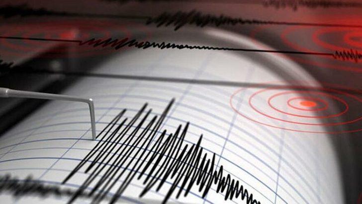 Son Dakika: Ege Denizi'nde 4.7 büyüklüğünde deprem