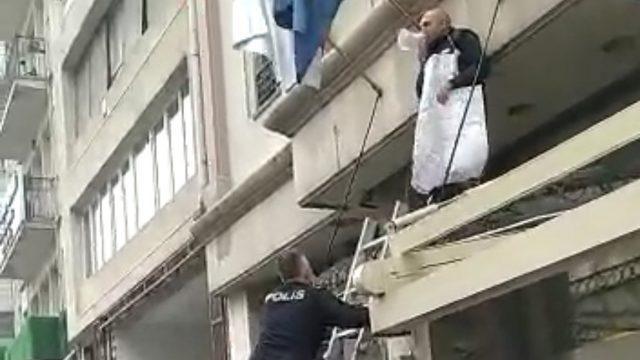 İstanbul'un göbeğinde ilginç olay!
