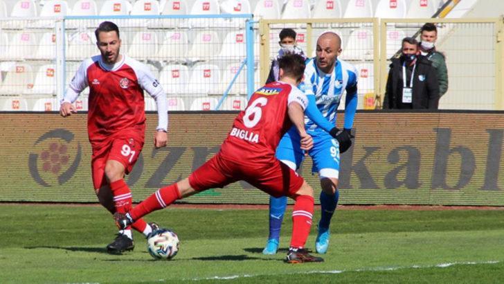 ÖZET | Erzurumspor - Fatih Karagümrük maç sonucu: 2-2