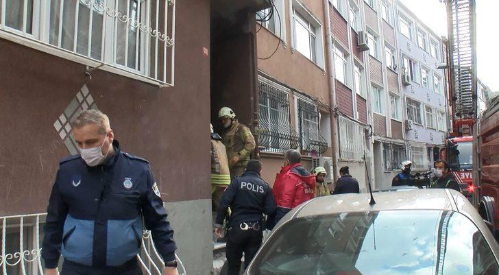Fatih'te korkutan yangın! Herkes pencereye koştu