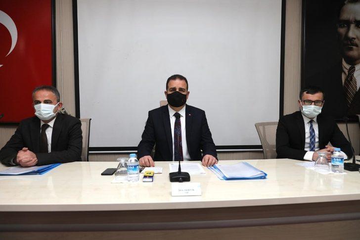Hakkari'de pandemi toplantısı