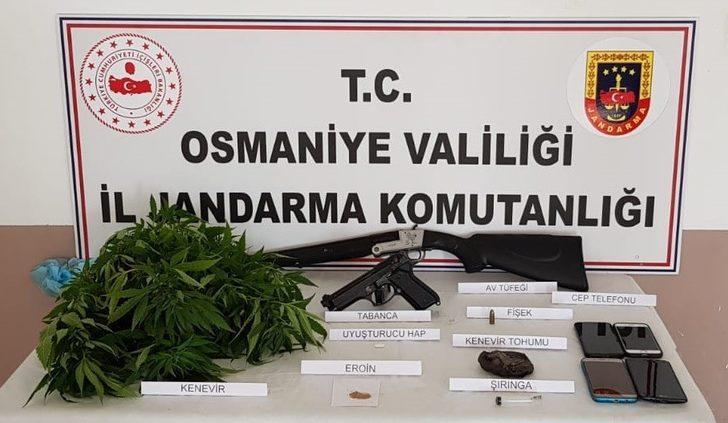 Osmaniye'de uyuşturucu operasyonu: 6 gözaltı
