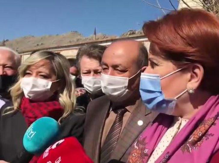 Son Dakika: Meral Akşener'den Ümit Özdağ'ın istifası hakkında ilk açıklama