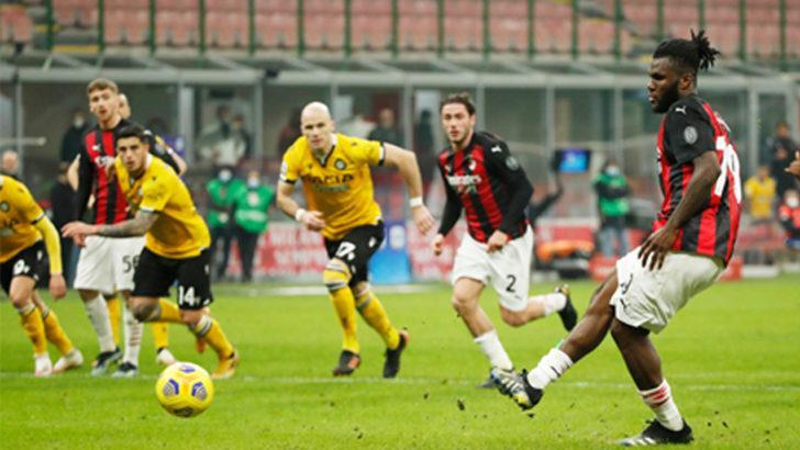 ÖZET | Milan - Udinese maç sonucu: 1-1