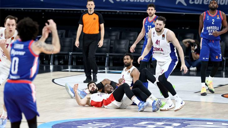 ÖZET | Anadolu Efes - CSKA Moskova maç sonucu: 100-70