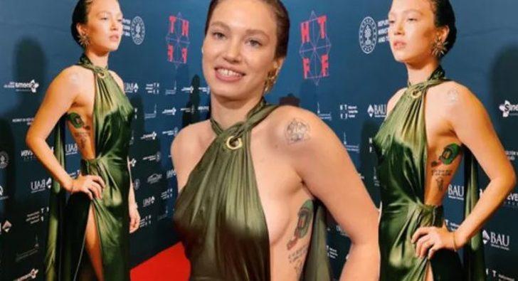 Melisa Şenolsun dövmeleriyle gündem oldu! Yorum yağdı