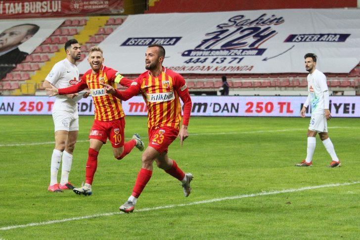 İlhan Parlak 3.golünü attı