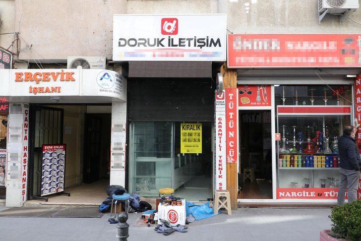 Eşi ve çocuğuyla birlikte öldürülen İlkay Tokkal'ın dükkanı boşaltıldı
