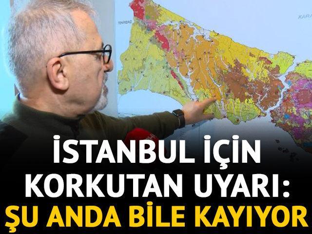 İstanbul için kritik deprem uyarısı: Şu anda bile kayıyor