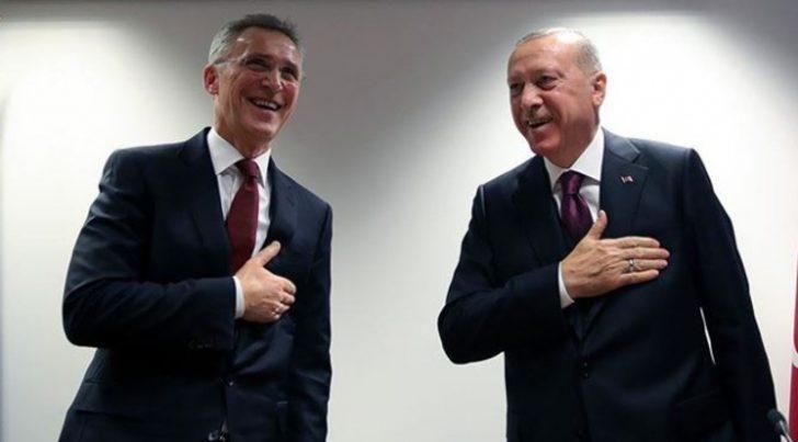 Cumhurbaşkanı Erdoğan'dan NATO Genel Sekreteri Stoltenberg'e teşekkür