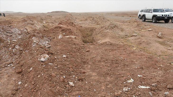 Irak'ta 20 kişinin gömülü olduğu toplu mezar bulundu