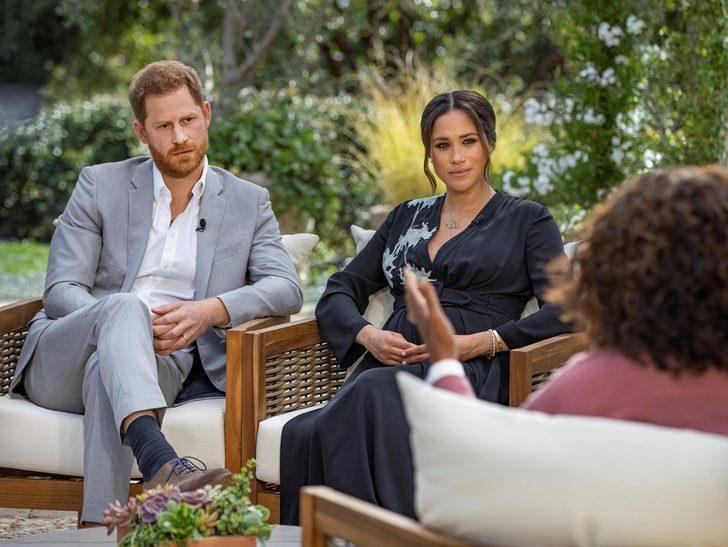 Meghan Markle ve Prens Harry röportajı için 7 milyon dolar