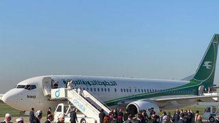 Tarihi anlar: Uçak şimdi de oraya indi