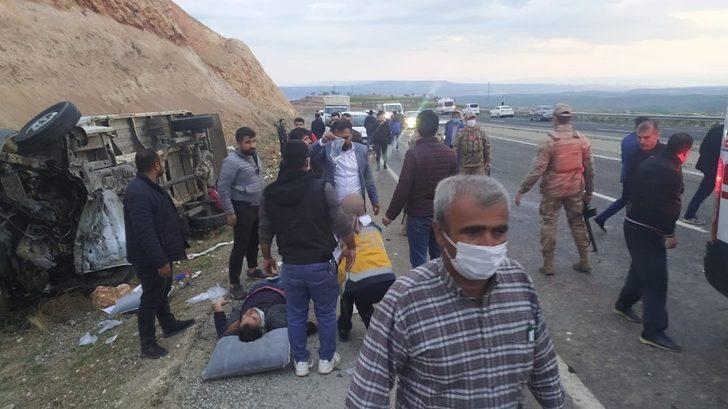 Son Dakika! Diyarbakır'da katliam gibi kaza: Çok sayıda ölü var