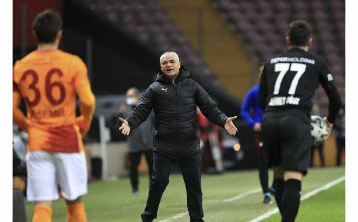Rıza Çalımbay: Galatasaray'dan puan almak kolay değil