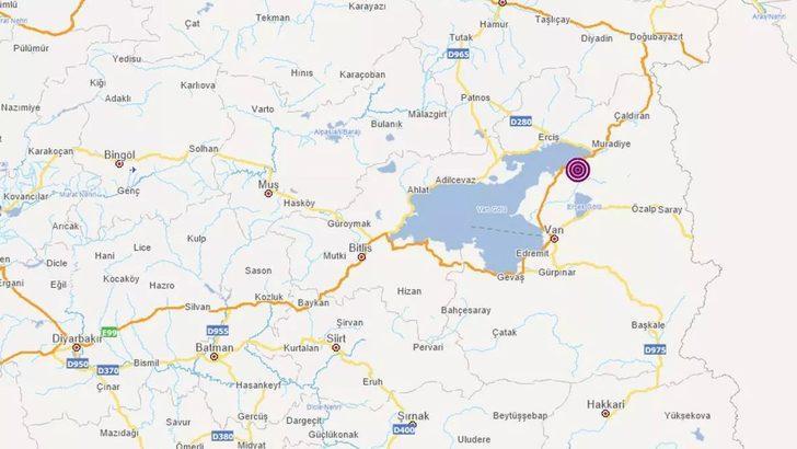 Son Dakika: AFAD duyurdu! Van'da 3.7 büyüklüğünde deprem
