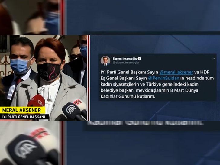 Son Dakika: Meral Akşener'den Ekrem İmamoğlu açıklaması