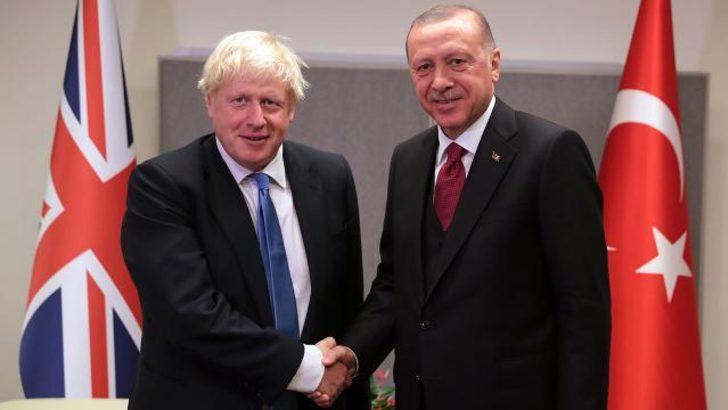 Cumhurbaşkanı Erdoğan ve Johnson arasında kritik görüşme