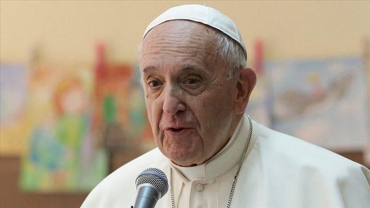 Papa'dan Erdoğan'a mesaj! Türk halkı için bu ifadeleri kullandı