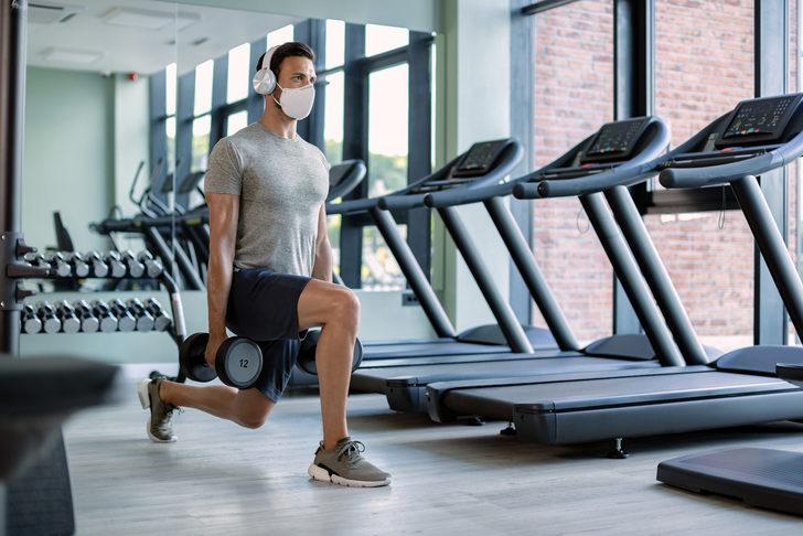 Yoğun egzersiz esnasında maske takmak güvenli