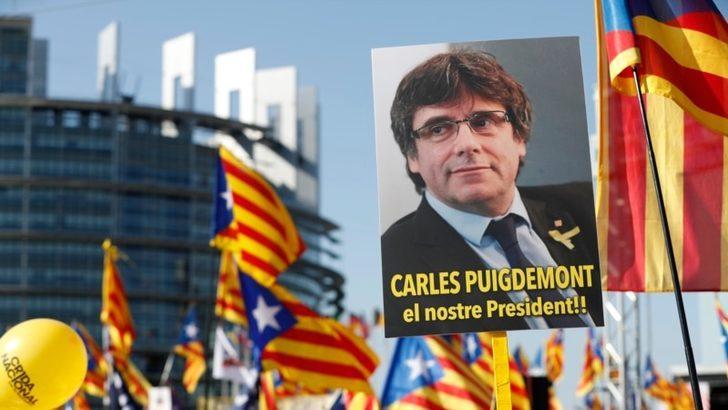 Katalan AP Vekillerinin Dokunulmazlıkları Kaldırıldı