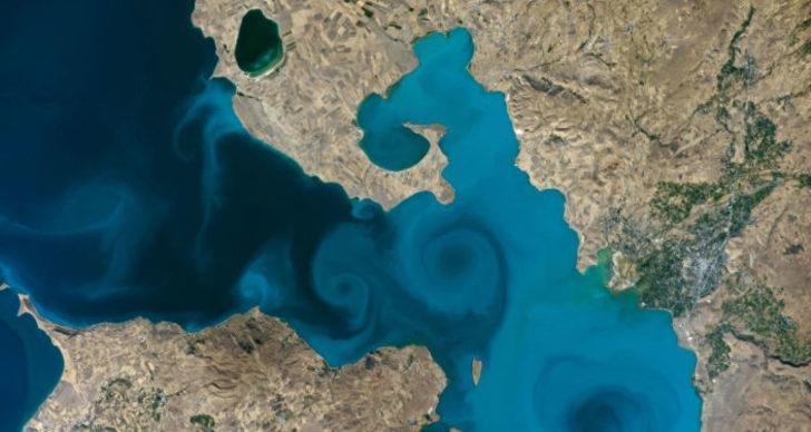 NASA'nın 20 yılın en iyileri listesinde Van Gölü de yarışıyor