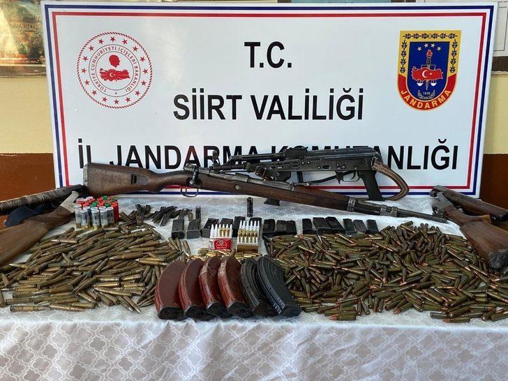 Siirt'te silah kaçakçılarına operasyon: 3 kişi yakalandı
