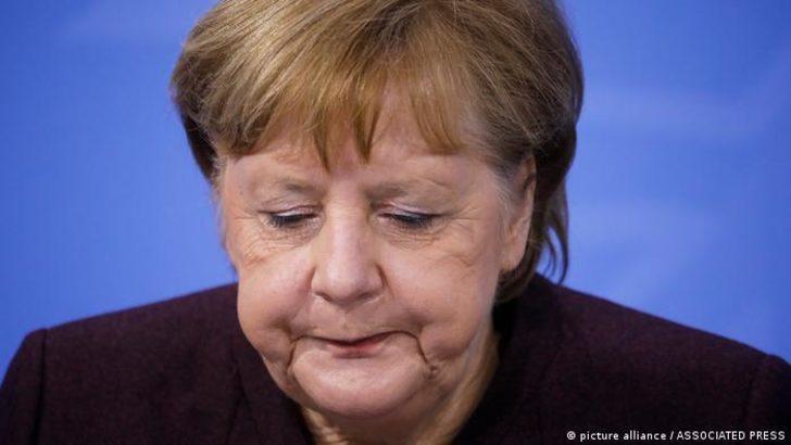 Merkel: Önümüzde 3-4 aylık zorlu bir dönem var