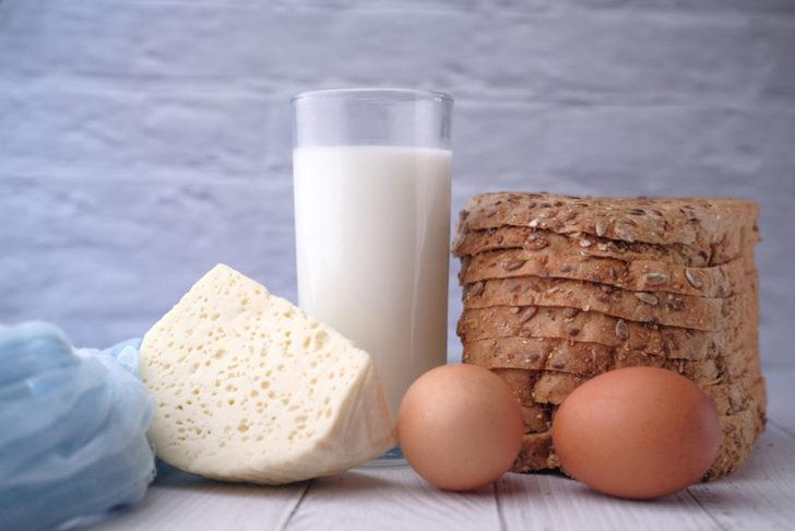 Yumurta ve tavuk eti üretimi azaldı, inek sütü üretimi arttı!
