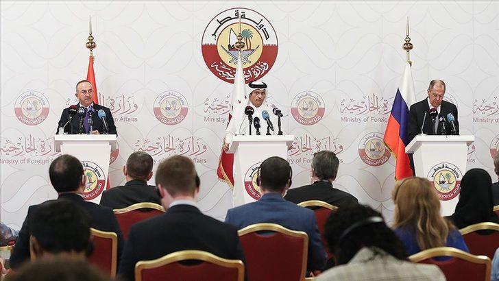 Son Dakika: Rusya, Türkiye ve Katar'dan flaş Suriye kararı