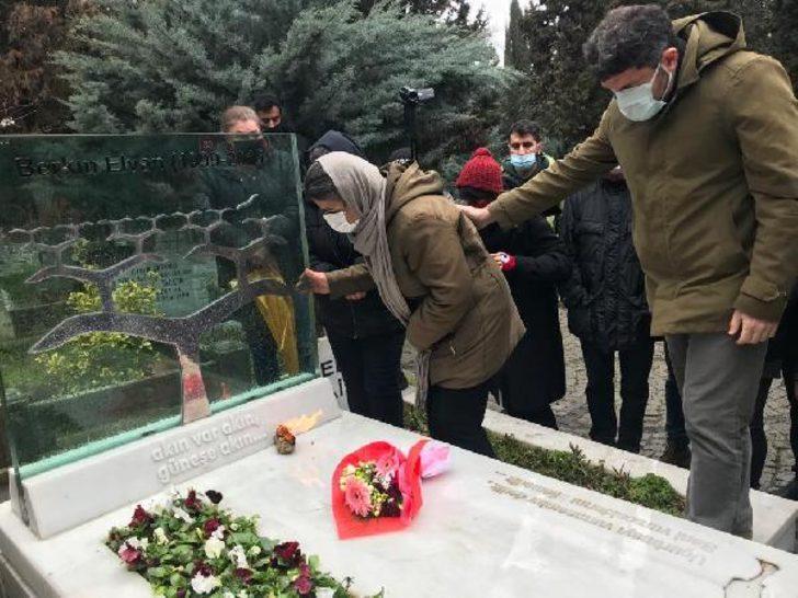 Berkin Elvan, ölümünün 7. yılında mezarı başında anıldı
