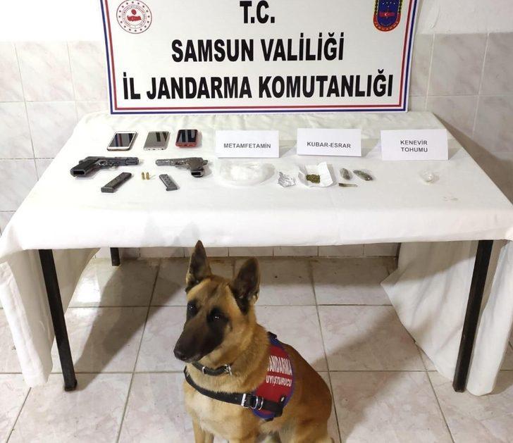 Jandarma zehir tacirlerine geçit vermiyor: 1 tutuklama, 1 adli kontrol