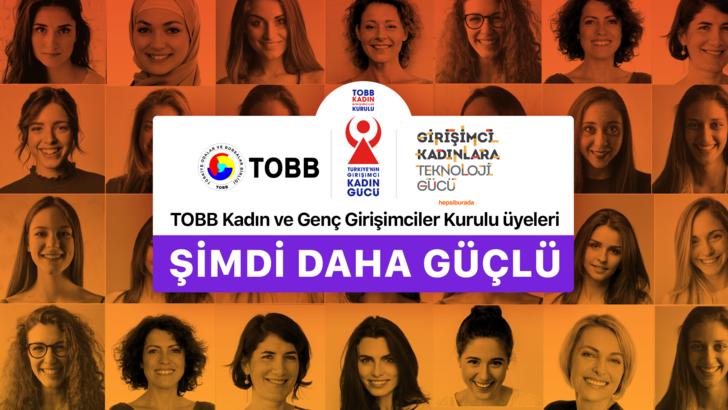 Hepsiburada ve TOBB'dan Girişimci Kadınlara Destek için Anlamlı İşbirliği