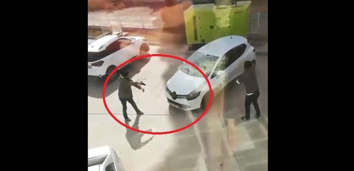 Dehşete düşüren anlar! Yakalanacağını anlayınca aracı polisin üzerine sürdü