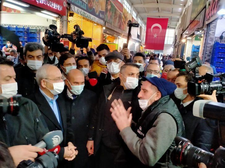 Kılıçdaroğlu'na İzmir esnafından bozuk yol tepkisi