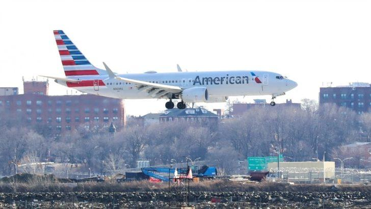Amerika'da Uçak Yolcuları Son Bir Yılın En Üst Seviyesinde