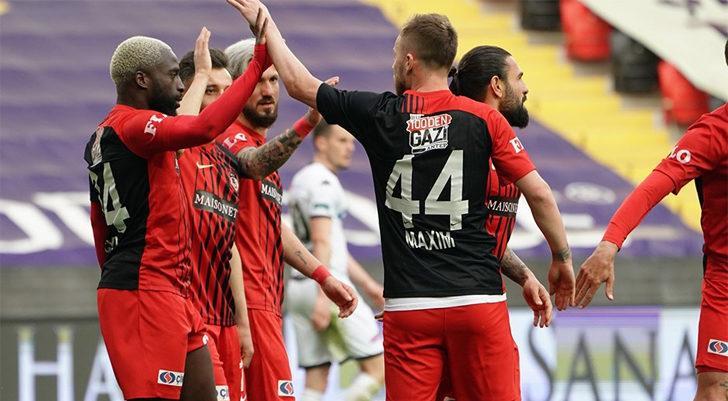 Gaziantep FK, Denizlispor'u iki golle geçti