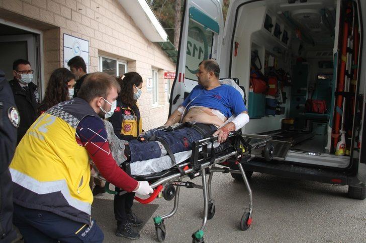 Çalışmak için gittiği hastane inşaatında defalarca bıçaklandı