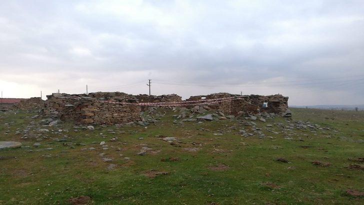 Uşak'ta patlamamış tarihi havan mermisi bulundu