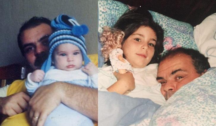 Pelin Öztekin'den babası Rasim Öztekin için duygusal paylaşım: Sen benim ilk aşkım, kahramanım, hayranı olduğum dayanağımdın